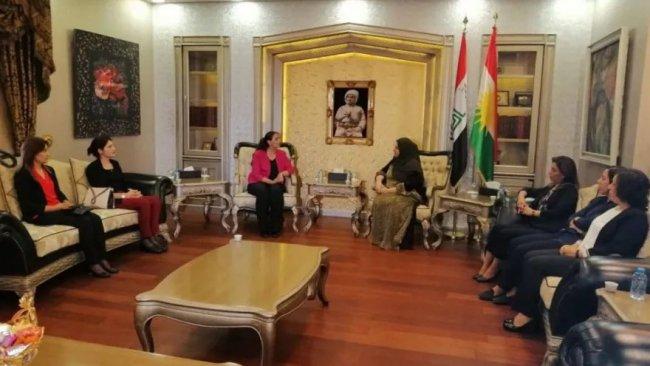 HDP heyeti Parlamento başkanıyla görüştü