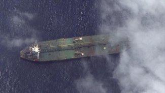 ABD Adrian Darya 1'e ait bir uydu fotoğrafı paylaştı