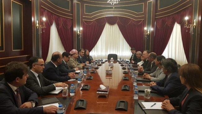 Başkan Barzani, HDP heyetini kabul etti