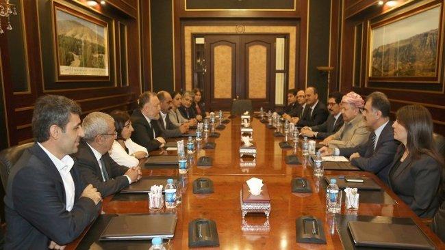 Baskan Barzani'den Kürt Sorunu'na çözüm açıklaması