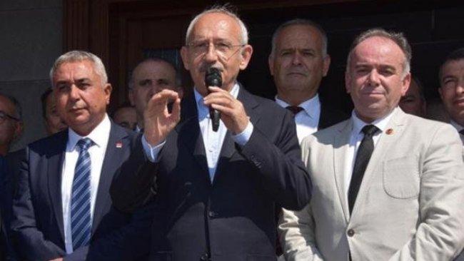 CHP Lideri Kılıçdaroğlu'na yumurtalı saldırı