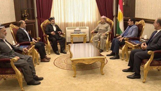 Başkan Barzani, Komel lideri ile görüştü