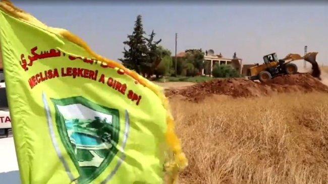 DSG, Rojava sınırında mevzilerini kaldırıyor