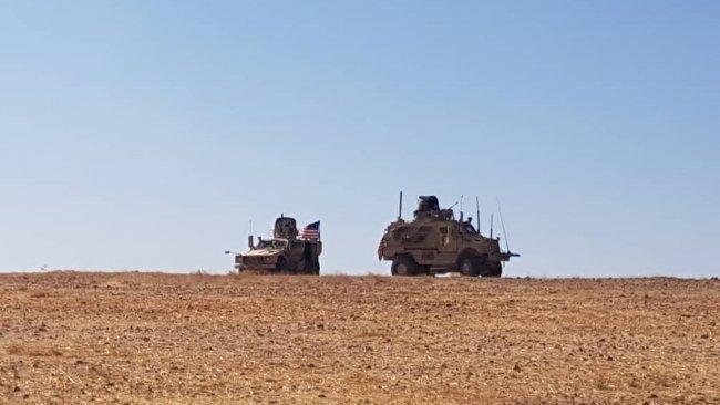 Uluslararası Koalisyon ve Girê Spî Askeri Meclisi'nden sınırda ortak devriye