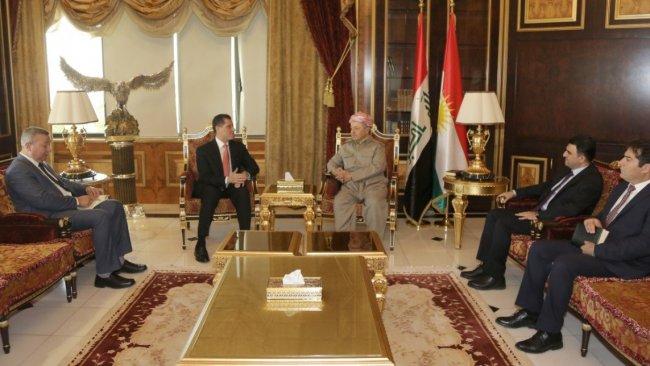 Iraklı Bakan'dan Başkan Barzani'ye teşekkür