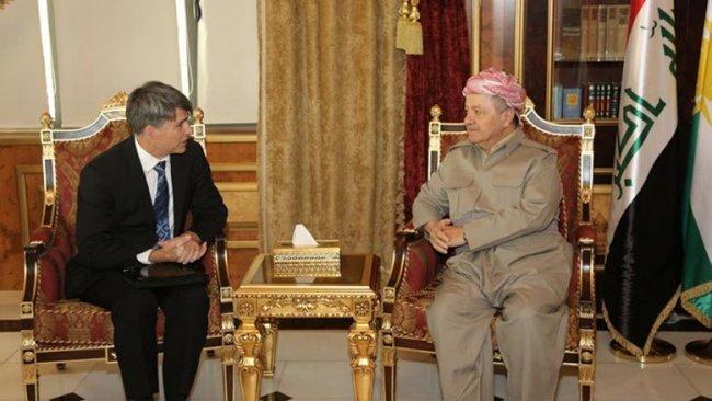 Başkan Barzani'den ABD'li yetkiliye IŞİD uyarısı