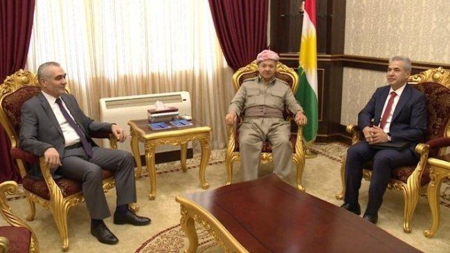Başkan Barzani ENKS heyeti ile görüştü