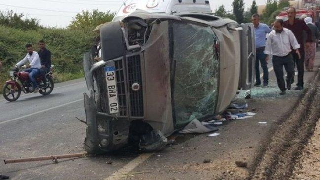 Mardin'de kaza: 6 yaralı