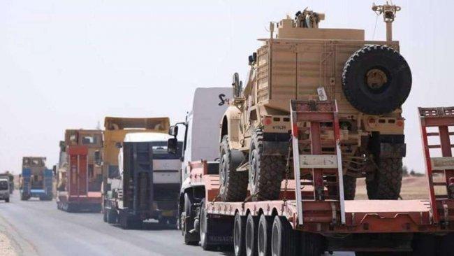 ABD'den DSG'ye 200 tırlık yeni askeri sevkiyat