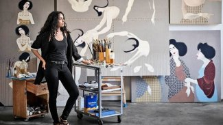 Kürt ressamın eserleri Amerika'nın en ünlü galerisinde