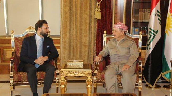 Başkan Barzani Lübnanlı parlamenter heyetini kabul etti