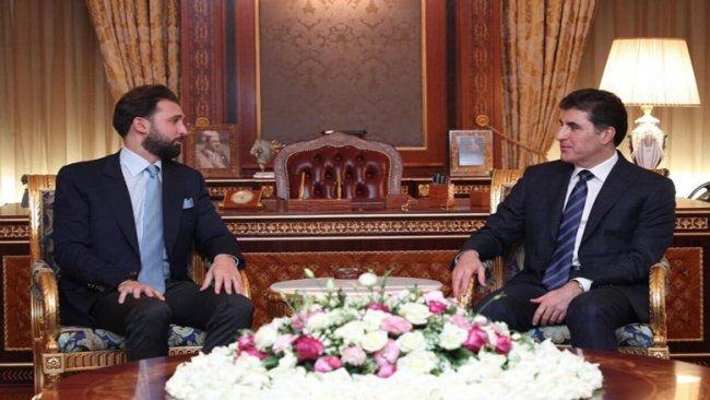 Başkan Neçirvan Barzani Lübnanlı parlamenter heyetini kabul etti