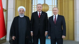 Erdoğan, Ruhani ve Putin'den üç ayrı Suriye mesajı