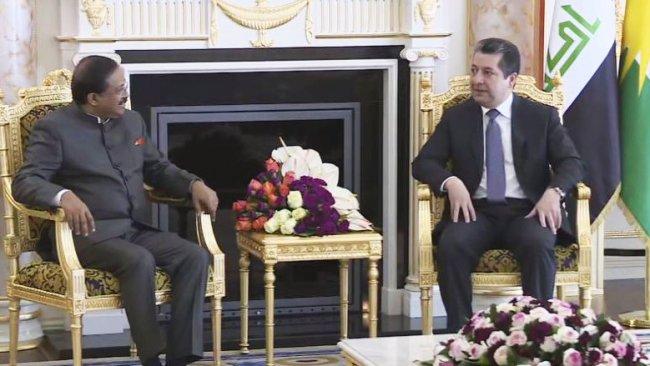 Başbakan, Hindistan devlet Bakanı'yla görüştü