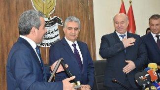 Erbil valiliğinde devir teslim gerçekleşti