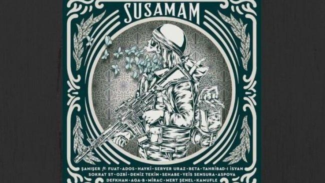 'Susamam' şarkısındaki rapçiler hakkında suç duyurusu