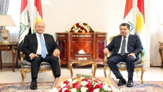 Başbakan, Berhem Salih ile bir araya geldi