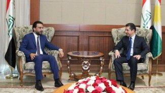 Başbakan Barzani, Irak Parlamentosu Başkanı ile görüştü