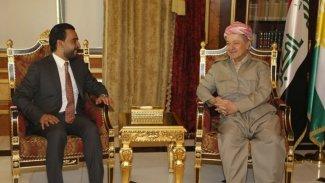 Başkan Barzani, Irak Parlamento Başkanı ile görüştü