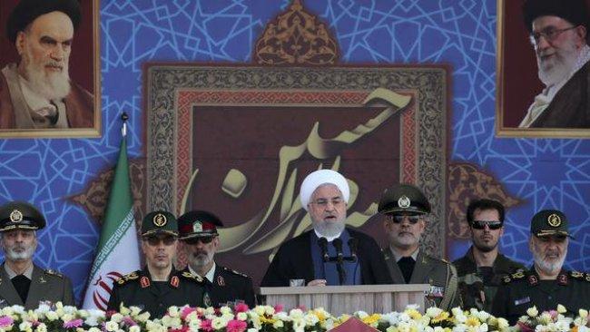 Ruhani: Körfez'deki yabancı güçler güvenlik tehdidi
