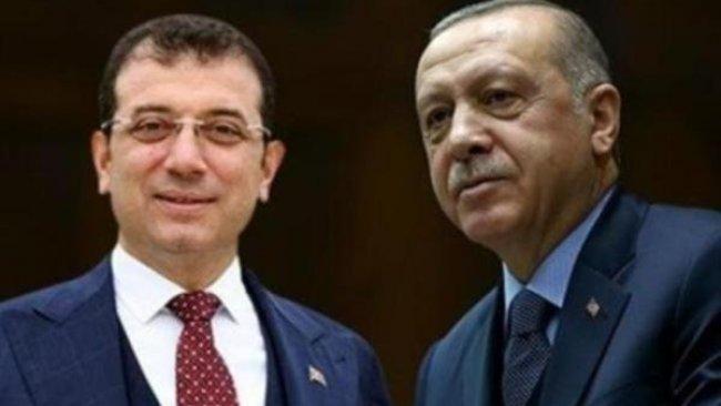 Erdoğan ile İmamoğlu'nun olası bir seçimde alacakları oy oranı