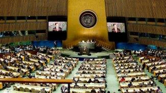 Kürdistan heyeti BM Genel Kurulu'nda