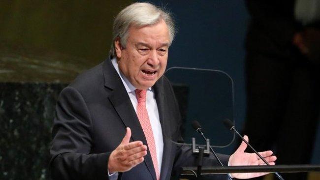 Guterres: Korkuyorum Dünya ikiye bölünüyor