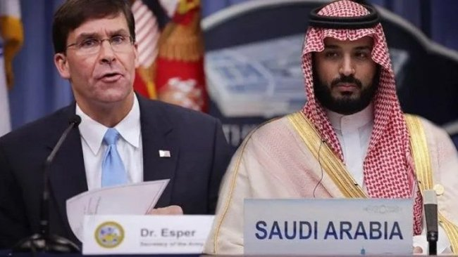 ABD- Suudi Arabistan arasında  'asker sevkiyatı' trafiği