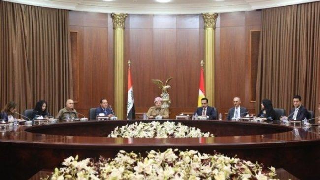 Başkan Barzani: KDP 'güçlü Kürdistan' için önemli atılımlar gerçekleştirdi