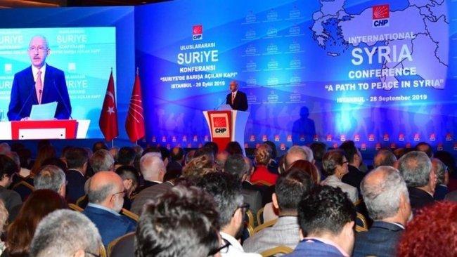 CHP'nin 'Suriye Konferansı' sonuç bildirgesi açıklandı