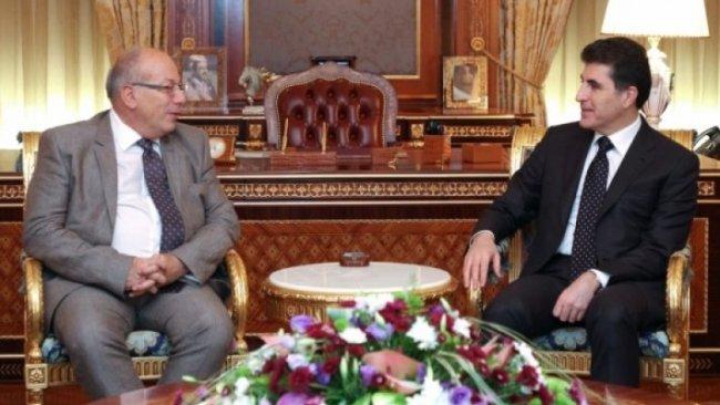 Başkan Neçirvan Barzani Yunanistan Büyükelçisini kabul etti