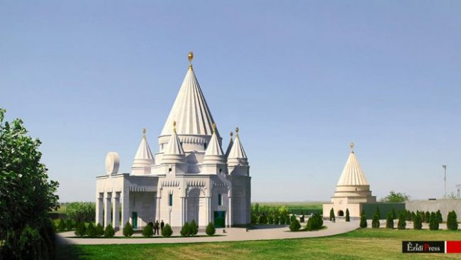 Dünyanın en büyük Ezidi tapınağı açıldı