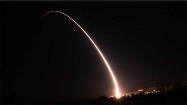 ABD'den balistik füze testi