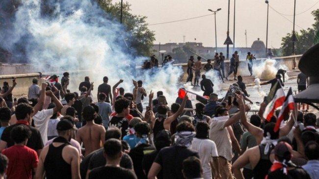 Irak'taki gösterilerde ölenlerin sayısı 21'e çıktı