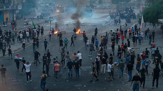 Irak'ta gösterilerde ölenlerin sayısı 42'ye  yükseldi