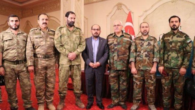 Urfa'da 'Suriye Milli Ordusu' ilanı