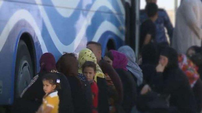 400'li IŞİD ailesi Kerkük'te