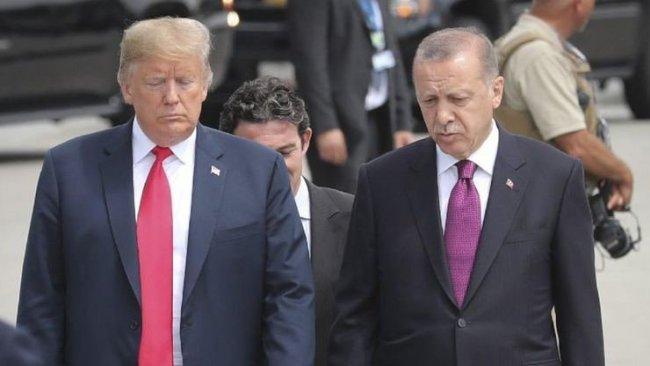 Erdoğan ile Trump'tan 'güvenli bölge' görüşmesi
