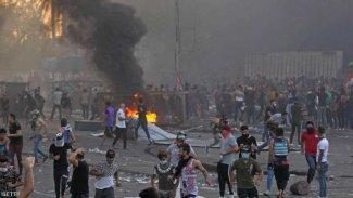Irak'ta gösterilerin bilançosu arttı: 104 ölü, 6 bin 107 yaralı