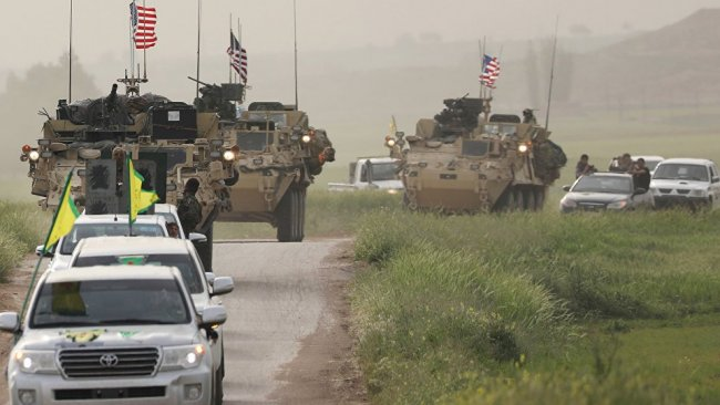 'ABD, birliklerini DSG'nin kontrolündeki bölgelere kaydıracak'