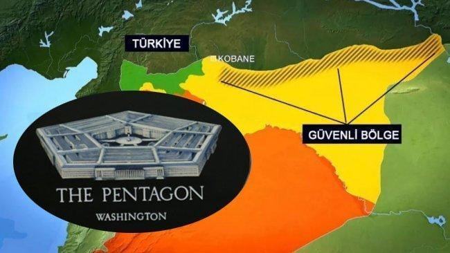 Pentagon'dan Türkiye'ye Rojava uyarısı