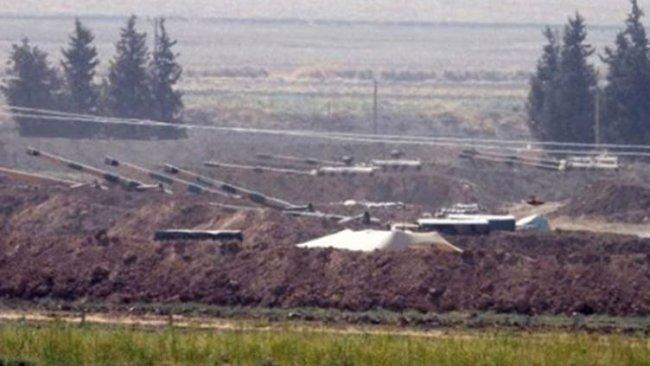 Rojava sınırında savaş hareketliliği