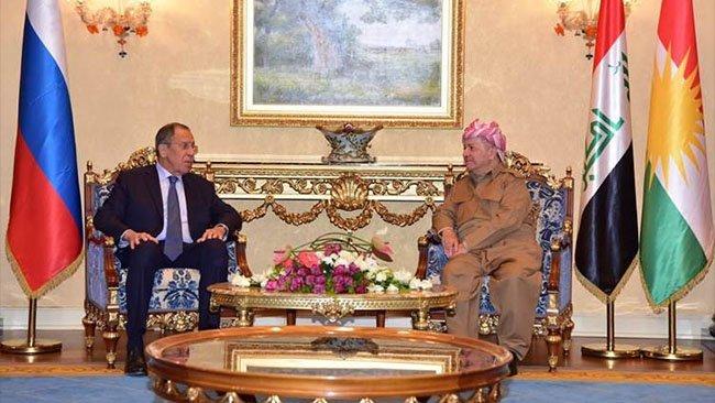 Başkan Barzani'den Rusya'ya 'Rojava' talebi