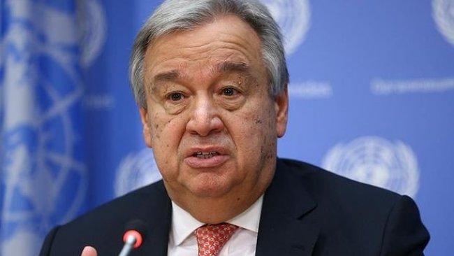Guterres: Fıratın doğusunda olanlardan derin endişe duyuyorum