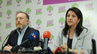 HDP eş başkanları Buldan ile Temelli'ye soruşturma