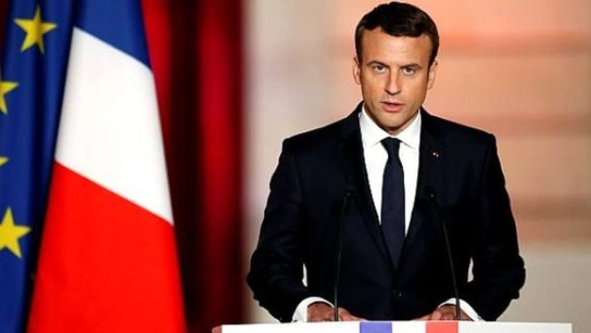 Macron'dan Türkiye'ye 'operasyonları durdurma' çağrısı