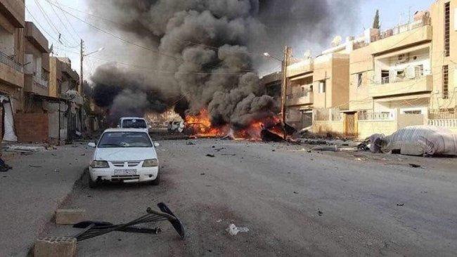 Kamışlo'da IŞİD saldırısı