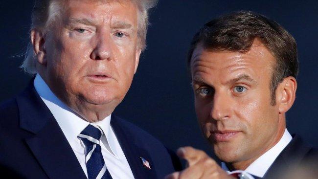 Macron'dan Trump'a: Türk operasyonu durdurulmalı