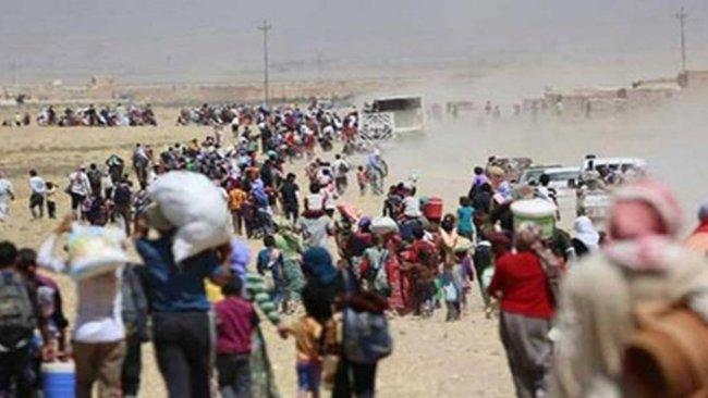BM: Rojava'da evini terk edenlerin sayısı 400 bini aşabilir