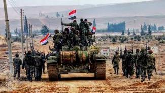 Suriye Ordusu Menbic'e girdi